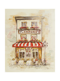 Cafe Du Paris II Prints by Patricia Pinto
