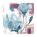 Blue Magnolias I Premium Giclee Print by Lanie Loreth