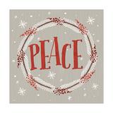 Christmas Wreaths III Premium Giclee Print by  A Fresh Bunch
