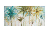 Watercolor Palms Premium Giclee Print by Patrcia Pinto