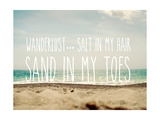 Sand in My Toes Posters by Sarah Gardner
