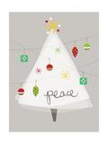 Christmas Joy II Premium Giclee Print by  A Fresh Bunch