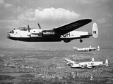 Lancaster in Flight Photographic Print by  Topix