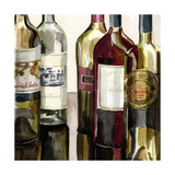 B&G Bottles Square I Premium Giclee Print by Heather French-Roussia