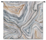 Agate Abstract II Wall Tapestry Tapiz por Megan Meagher
