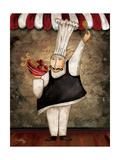 The Gourmets IV Premium Giclee Print by Elizabeth Medley
