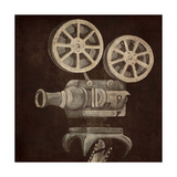 Now Showing Projector Premium Giclee Print by Gina Ritter