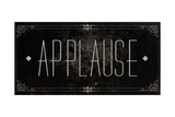 Silent Film Type I (Applause) Premium Giclee Print by  SD Graphics Studio