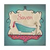 Bain and Savon II Premium Giclee Print by  Josefina