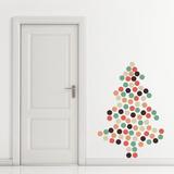 Christmas Dots - 108 Pieces Autocollant