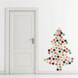 Christmas Dots - 108 Pieces Wall Decal