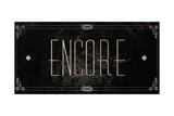Silent Film Type II (Encore) Premium Giclee Print by  SD Graphics Studio