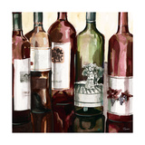 B&G Bottles Square II Premium Giclee Print by Heather French-Roussia