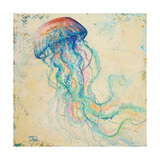 Creatures of the Ocean I Premium Giclee Print by Patricia Pinto