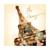 Oh Paris Premium Giclee Print by Emily Navas