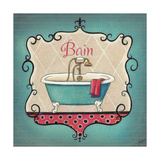 Bain and Savon I Premium Giclee Print by  Josefina