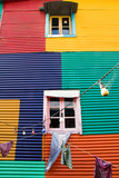 Colourful Window in La Boca Photographic Print by  elxeneize