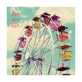 Love the Ride Poster by Lisa Hill Saghini