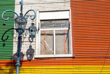 Detail of a Window in La Boca Photographic Print by  elxeneize