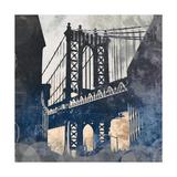 NY Bridge at Dusk II Prints by Dan Meneely