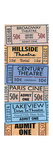 Theater Tickets Premium Giclee Print by  Piddix