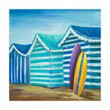Beach Cabana I Premium Giclee Print by Patricia Quintero-Pinto