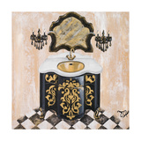 Opulance Bath I Posters by Tiffany Hakimipour