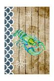 Planked Sealife I Poster by Julie DeRice