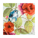 Beautiful Bird I (Beauty) Premium Giclee Print by Patricia Quintero-Pinto