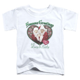 Toddler: Lucy- Seasons Greetings Shirts