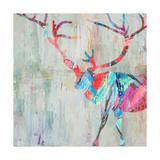 Rhizome Deer Giclee-tryk i høj kvalitet af Ann Marie Coolick