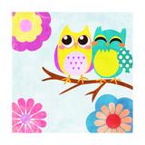 Cozy Owls I Prints by  SD Graphics Studio