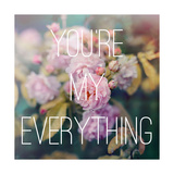 You're My Everything Premium Giclee Print by Sarah Gardner