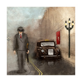 London Streets II Prints by  SD Graphics Studio