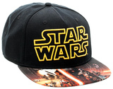 Star Wars Force Awakens- Sublimated Snapback Hat