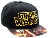 Star Wars Force Awakens- Sublimated Snapback Gorra