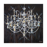 Chandelier II Lámina giclée premium por Heather French-Roussia