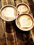 Love in a Latte Fotografisk trykk av  Acosta