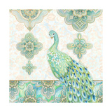 Emerald Peacock II Posters by Janice Gaynor