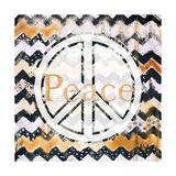 Love and Peace Square II Premium Giclee Print by Patricia Quintero-Pinto