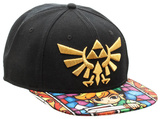 Zelda- Stained Glass Sublimated Snapback Hat