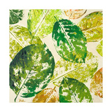Green Overlay II Print by Patricia Pinto