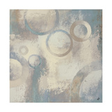 Muted Cobalt II Premium Giclee Print by Michael Marcon