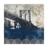 NY Bridge at Dusk I Print by Dan Meneely