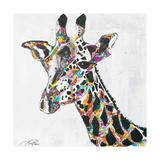 Safari Collage II Lámina giclée prémium por Gina Ritter
