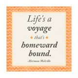 Life is a Voyage Premium Giclee Print by Janice Gaynor