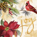 Christmas Poinsettia I Premium Giclee Print by Lanie Loreth