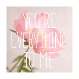 You're Everything to Me Premium Giclee Print by Sarah Gardner