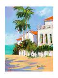 Shore House Premium Giclee Print by Jane Slivka