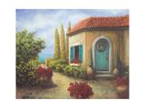 Front Garden Tuscan Dreams II Prints by Walt Johnson